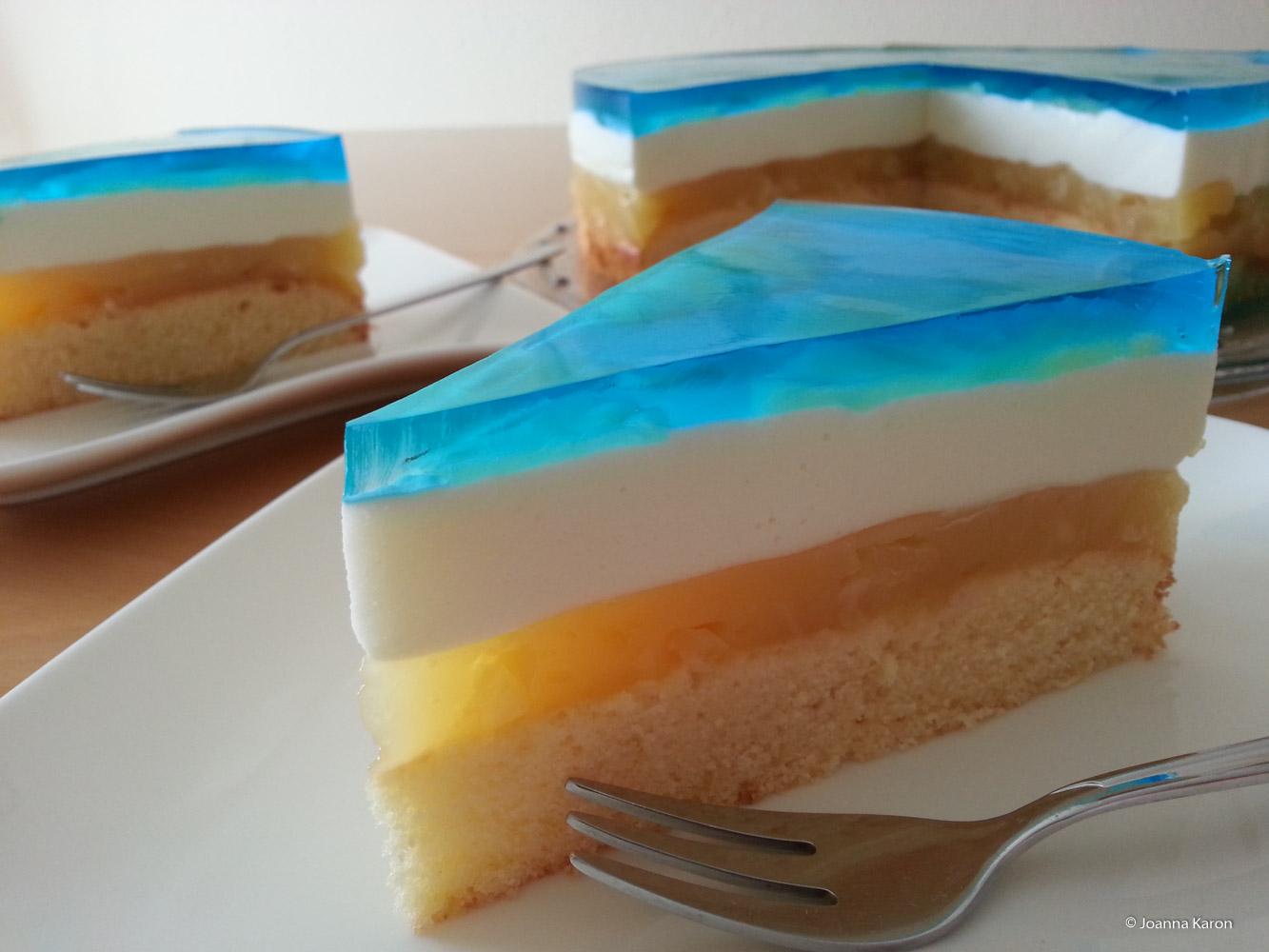 blue hawaii torte oder auch swimmingpool torte die k chenzuckerschnecke. Black Bedroom Furniture Sets. Home Design Ideas