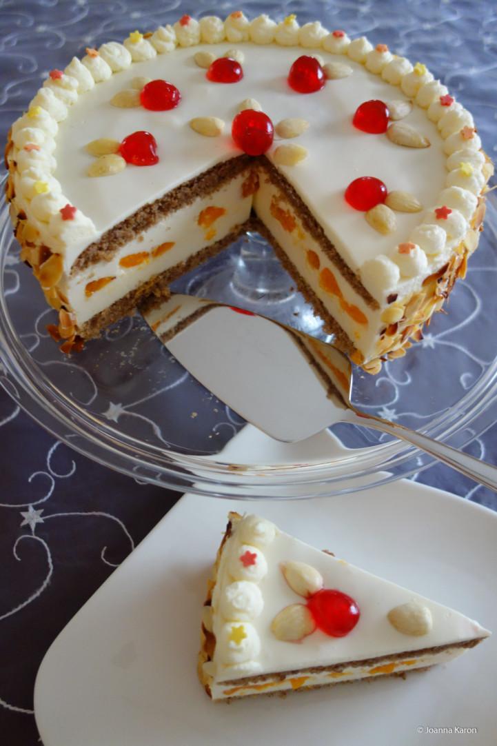 Weihnachtliche Sekt Torte Die Kuchenzuckerschnecke
