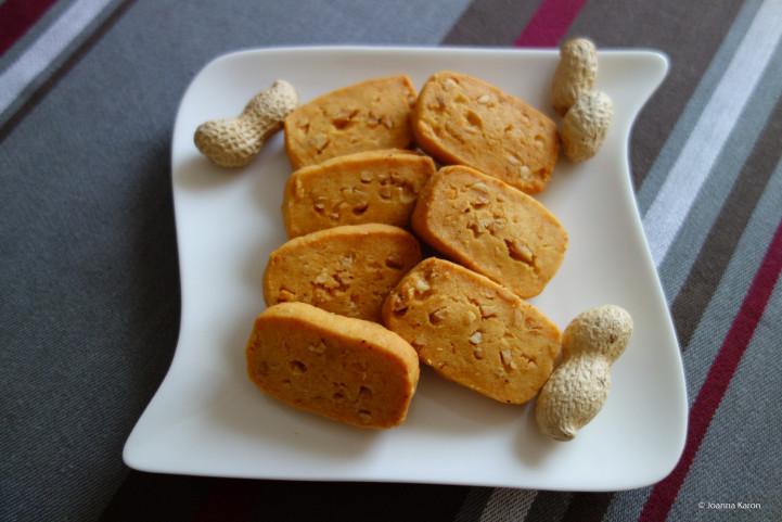 Erdnuss-Parmesan-Kekse
