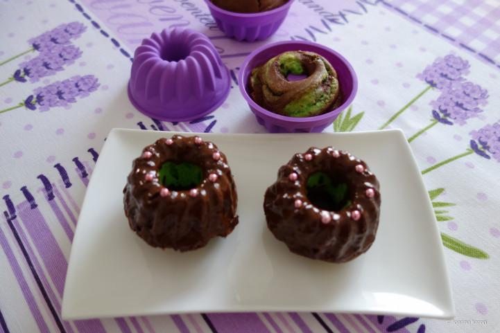 Schokoladen-Pistazien-Rührkuchen