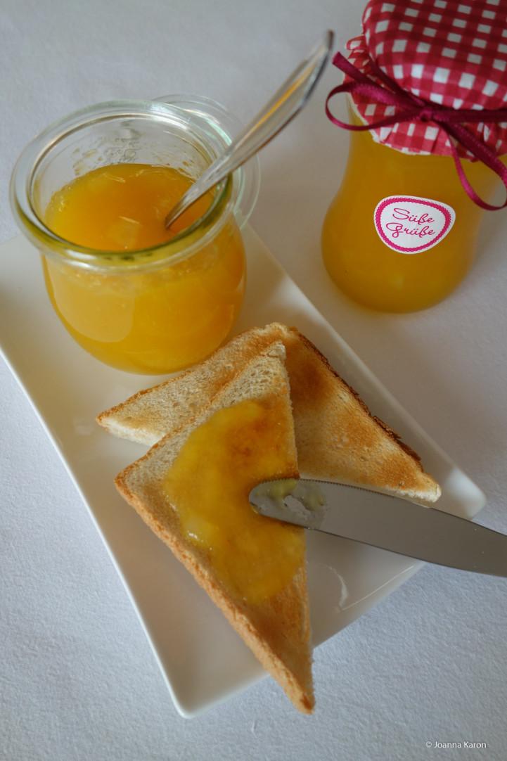 Birnen-Mango-Konfitüre