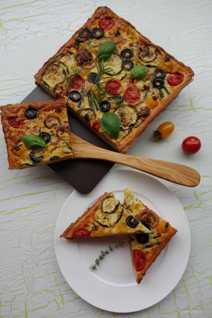 Mediterrane Gemüsetarte