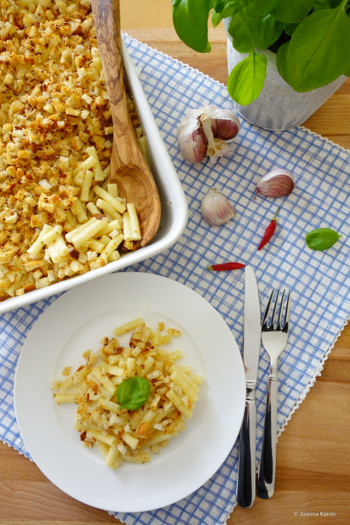 Käse-Makkaroni mit Chilikruste