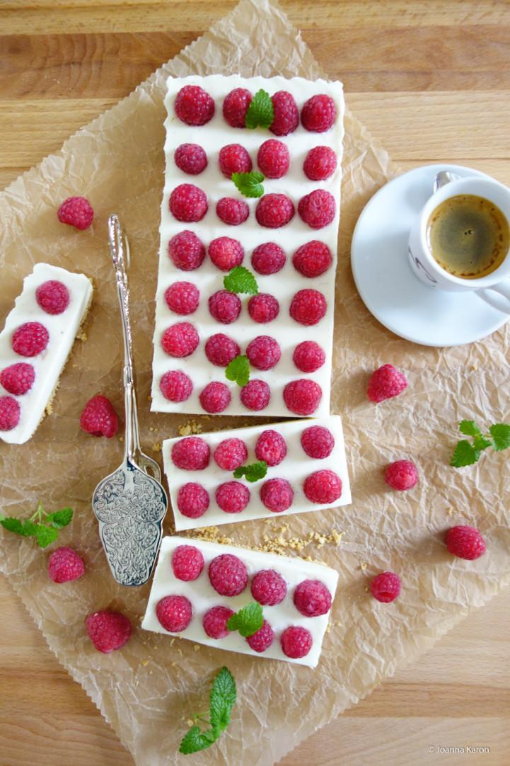 Himbeer-Ingwer-Cheesecake-Tarte