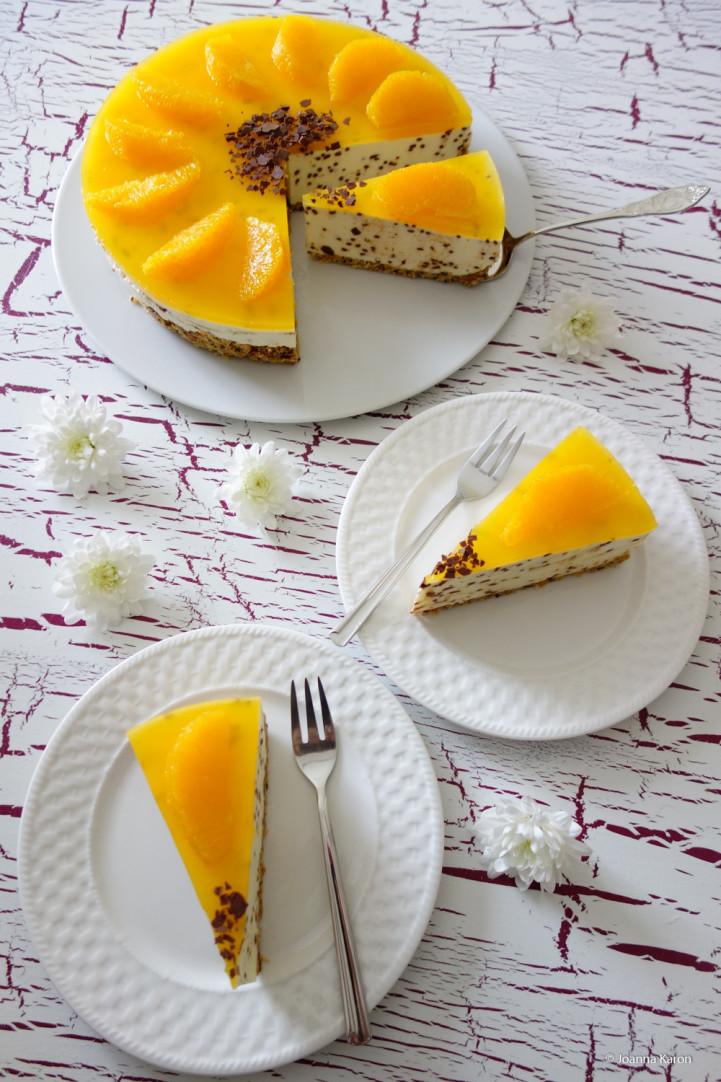 Orangen-Cheesecake