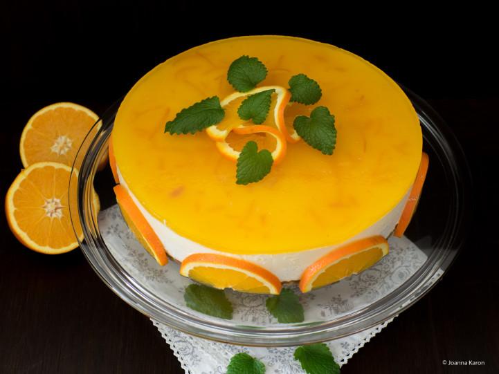 Orangen-Vanille-Cheesecake