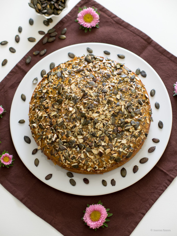 Kürbis-Mohn-Kuchen