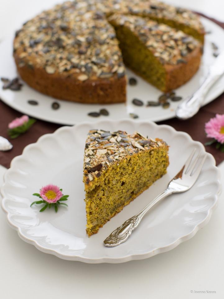 Ein Gesunder Kuchen Zum Jahresbeginn Kurbis Mohn Kuchen Die