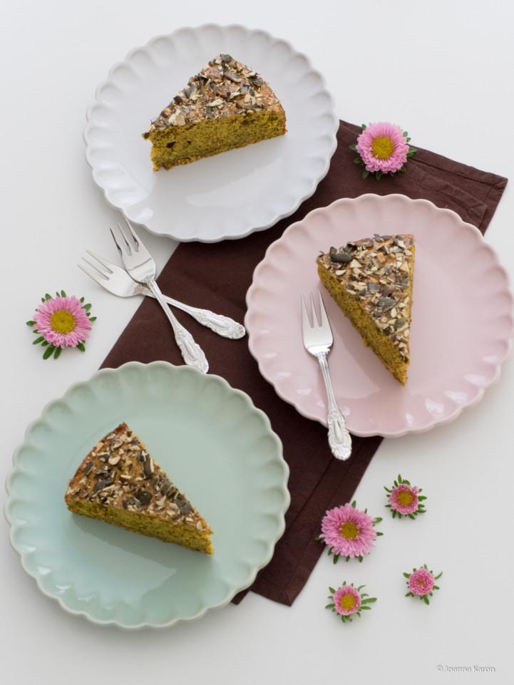 Kürbis Mohn Kuchen